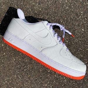 NEW Nike Air Force 1 NY vs NY White Orange AF1 15